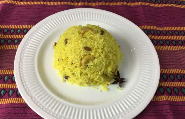 Bengali Mishti Pulao Recipe