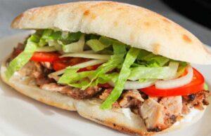 Naan Chicken Sandwich Recipe