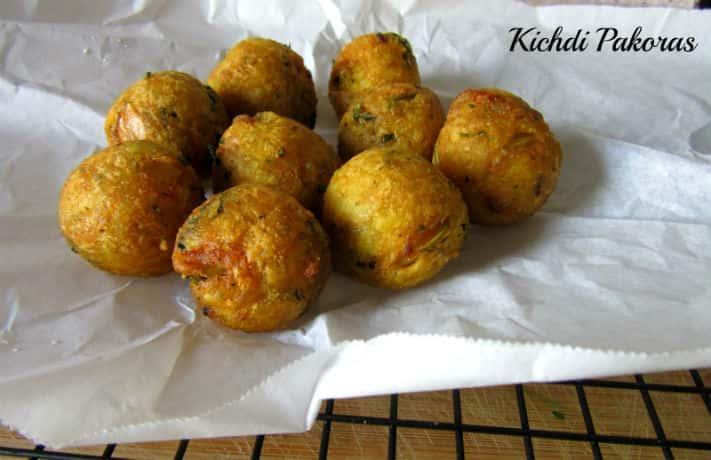 Khichdi Fritters Recipe