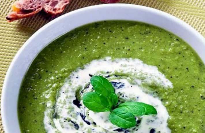Matar Tulsi Soup Recipe