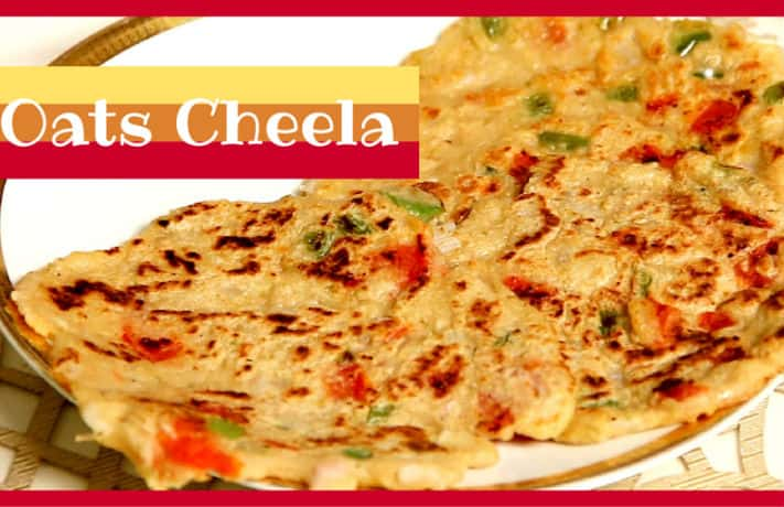 Oats Veg Cheela Recipe