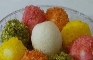 Colourful Rasgulla Recipe