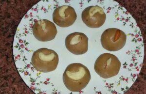 Singhara Atta Laddu Recipe