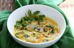 Vegetarian Laksa Recipe