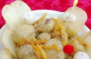 Baby Potato Chaat