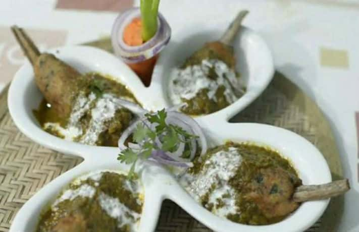 Veg Kofte With Palak Gravy Recipe
