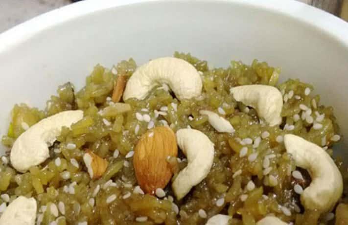 Til Gur Chawal Recipe