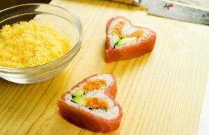Japanese Sushi Heart Recipe