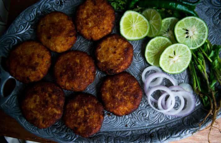 Jimikand Kabab Recipe