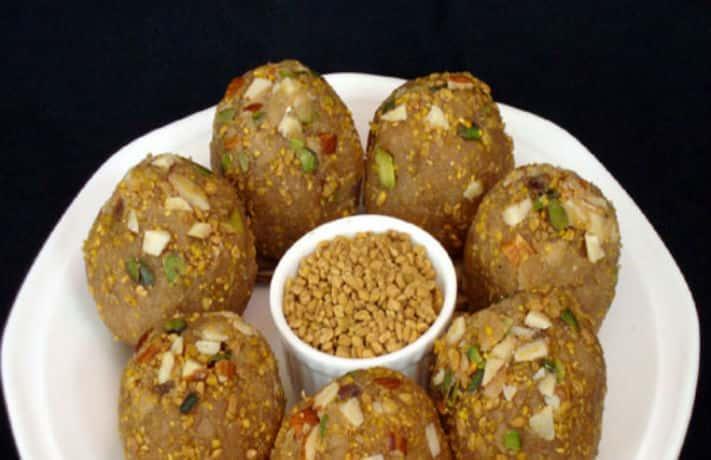 Methi dana ladoo indian food recipes methi dana ladoo recipe forumfinder Choice Image