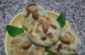 Nutty Oats Tawa Poori Recipe