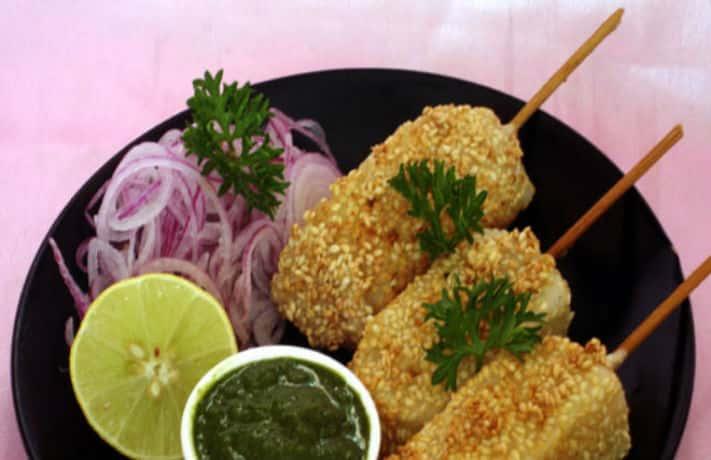 Til Dahi Kabab Recipe