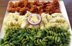 Tri Color Pasta Recipe