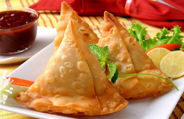 Baked Vegetable Samosa Recipe