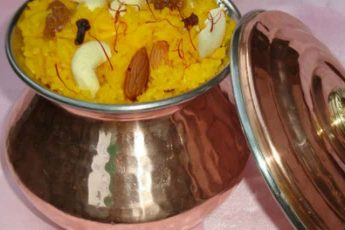 Zafrani Meethe Chawal Recipe