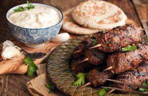 Arbi Kofta With Mint Yogurt Dip Recipe