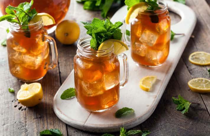Holi Special Ice Tea Thandai Recipe