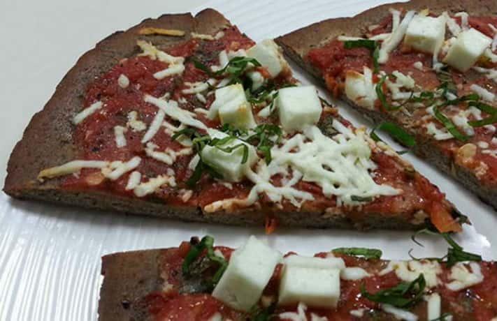 Kuttu Atta Pizza Recipe