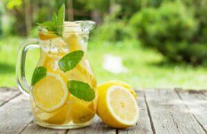 Beauty Drink Lemon Recipe