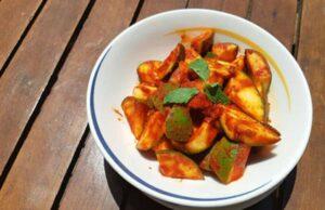 Kachya Ambyache Lonche Recipe