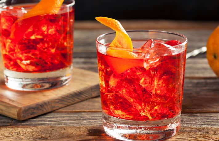 Smoked Infused Negroni Recipe