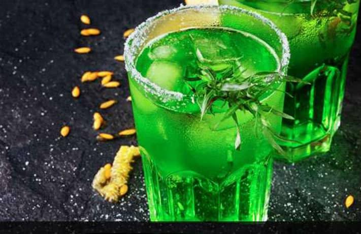 Smoked Melon Martini Recipe