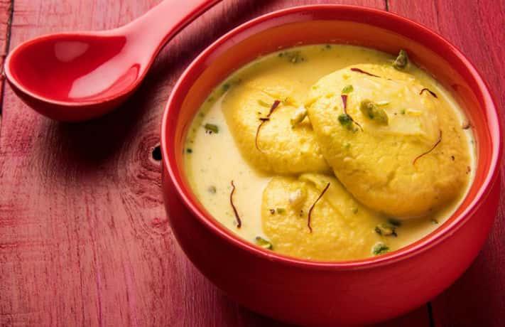 Golden Rasmalai Recipe