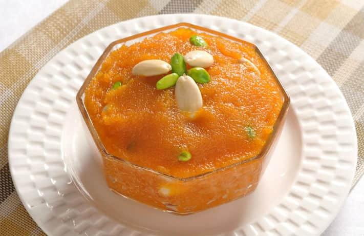 Kesari Semolina Pudding Recipe