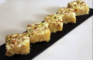 Sevaiya Ki Burfi Recipe in Hindi