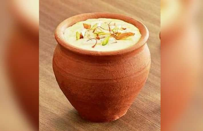 Thandai Phirni Sweet Recipe in Hindi