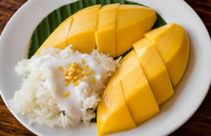 Sticky Rice with Mango Recipe in Hindi