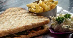 Grilled Veg Pesto Sandwich Recipe