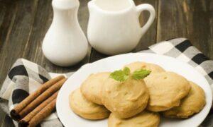 Microwave Eggless Cookies Recipe