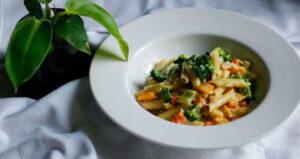 Tricolor Pasta Recipe in Hindi