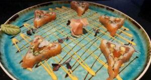 Valentine Sushi Roll Recipe in Hindi
