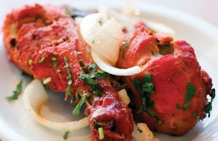 Microwave Tandoori Chicken Recipe