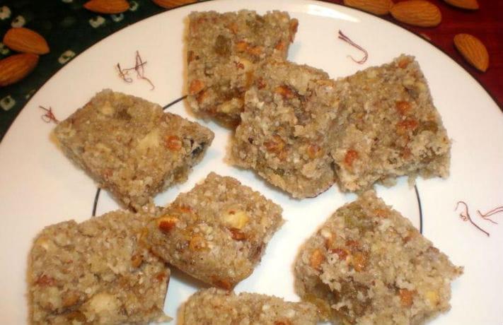 Sukhe Meve Ki Barfi Recipe