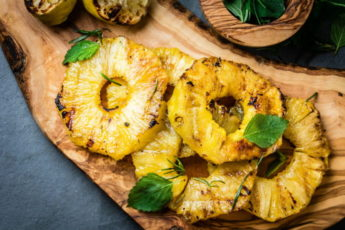 Grilled Pineapples Recipe