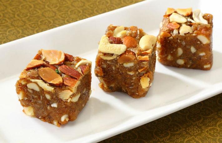 Mawa Anjeer Barfi Recipe