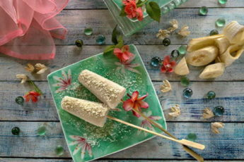 Banana and Maple Ice Lollies Recipe