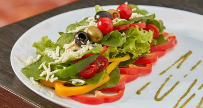 Olive and Peppers Salad Recipe