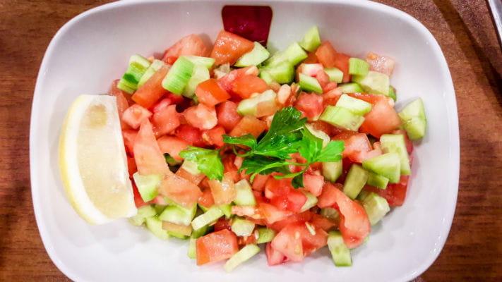 Tamatar Kheera Salaad Recipe