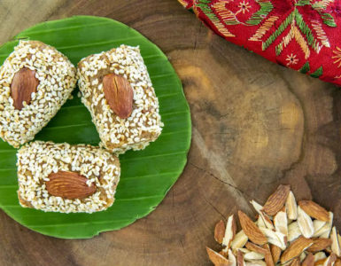 Almond and Sesame Pinni Recipe