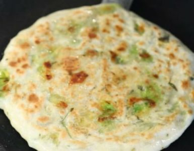 Cheese and Avocado Paratha Recipe