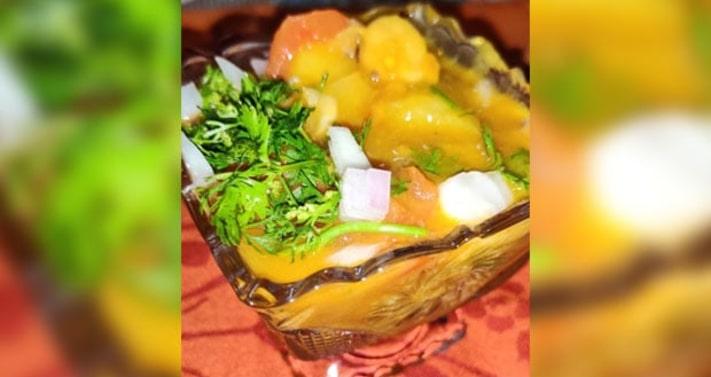 Khatta Meetha Chana Bateta Recipe