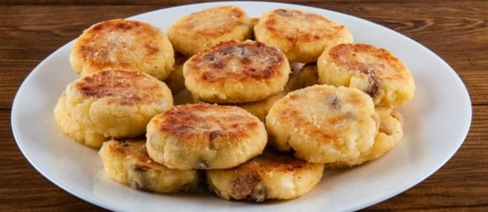 Bengali Style Chenna Fritters Recipe