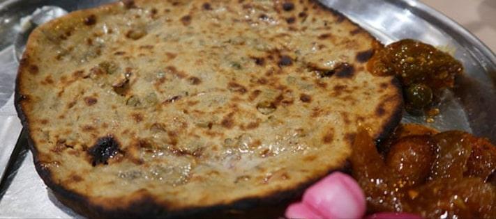 Agra Paratha Thali Recipe