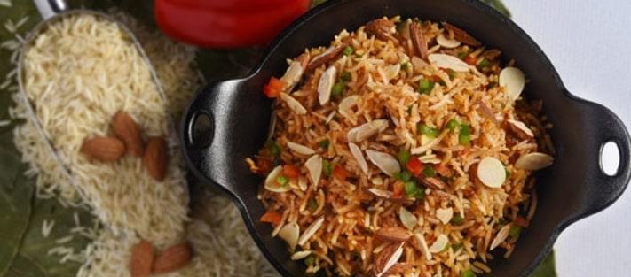 Almond Rice Recipe