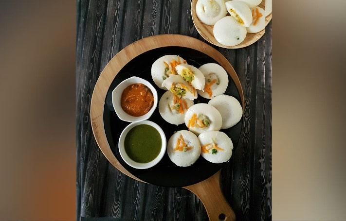 Chicken Keema Idli Recipe