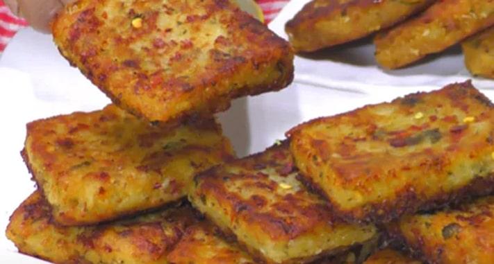 No Bread Sooji Toast Recipe